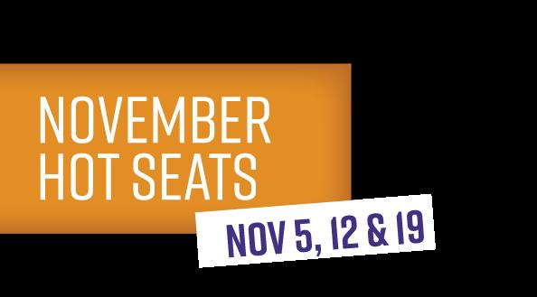 KC Nov Hot seats tag