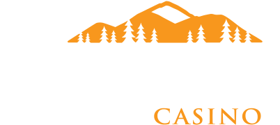 Kalispel Logo Casino White Orange