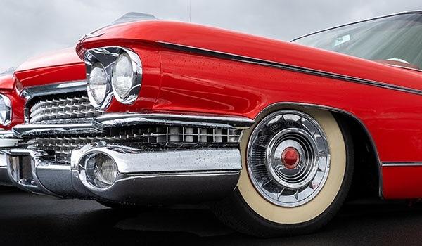 Card kalispel classic car