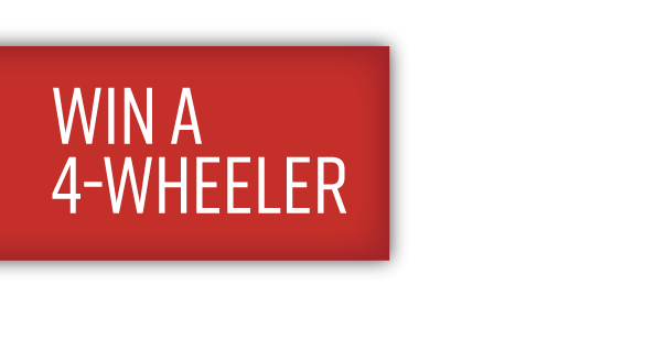 Win a four wheeler tag
